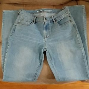 Old Navy Girls Size 4 Curvy Light Wash Jeans